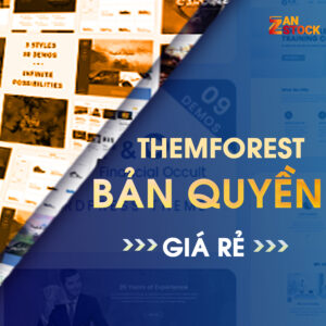 themeforest gia re - Zan Stock
