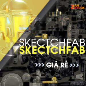 SKETCHFAB GIA RE ZANSTOCK - Zan Stock