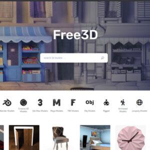 Mua Model 3D Free3D Giá Rẻ Bản Quyền Uy Tín Chất Lượng 100%