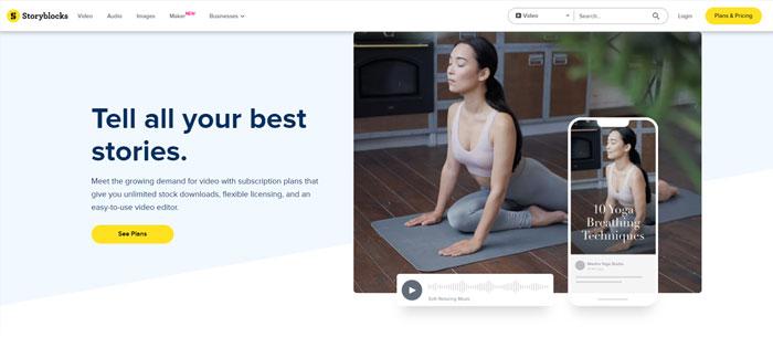 Mua StoryBlock Premium Giá Rẻ Uy Tín, Chất Lượng, Nhanh Chóng
